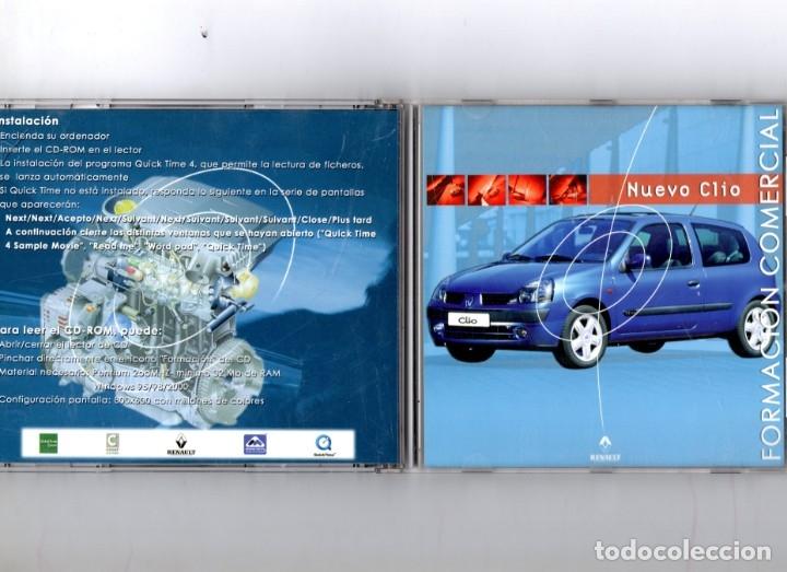 CD NUEVO RENAULT CLIO FORMACION COMERCIAL (Coches y Motocicletas Antiguas y Clásicas - Catálogos, Publicidad y Libros de mecánica)