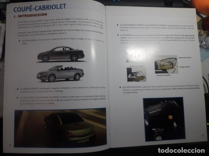 Coches y Motocicletas: CATALOGO RENAULT COUPE-CABRIOLET MEGANE INFOPRODUCTO RED SEPTIEMBRE 2003 - Foto 3 - 176832669