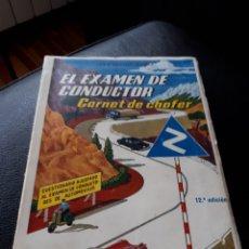 Coches y Motocicletas: EL EXAMEN DE CONDUCTOR. AÑO 1957. Lote 176923464