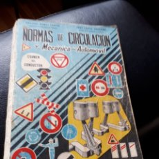 Coches y Motocicletas: NORMAS DE CIRCULACION Y MECANICA AÑO 1963. Lote 176924113