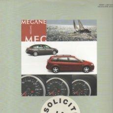 Coches y Motocicletas: CATALOGO RENAULT MEGANE EMOTION SERIE LIMITADA 2007. Lote 177001514