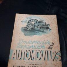 Coches y Motocicletas: CONSERVACION Y REPARACION DE AUTOMOVILES. AÑO 1943. Lote 177021879