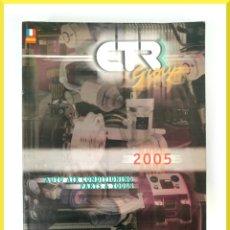 Coches y Motocicletas: CATALOGO CTR GROUP - MASTER CATALOGUE 2005 - AUTO AIR CONDITIONING PARTS & TOOLS. Lote 58671776