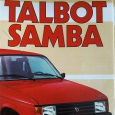 Coches y Motocicletas: TALBOT SAMBA 10 PAGINAS. Lote 183030398