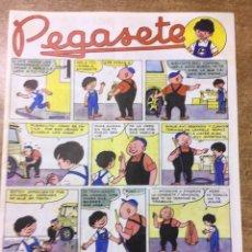 Coches y Motocicletas: PEGASETE - REVISTA INFANTIL - PEGASO - A COLOR. Lote 177486248