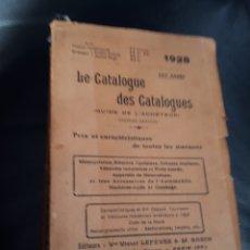 Voitures et Motocyclettes: LE CATALOGUE DES CATALOGUES MOTOS BICIS COCHES PRECIOS AÑO 1928. Lote 177597778