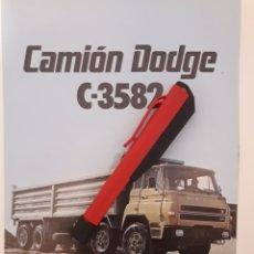 Coches y Motocicletas: CAMIÓN BARREIROS DODGE C3582. Lote 177621652