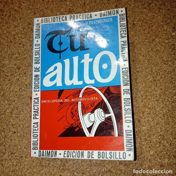TU AUTO (Coches y Motocicletas Antiguas y Clásicas - Catálogos, Publicidad y Libros de mecánica)