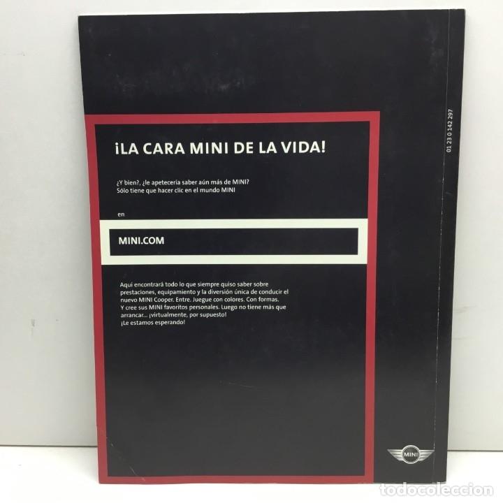 Coches y Motocicletas: CATÁLOGO - REVISTA - COCHES - COLECCIÓN MINI COOPER - PRESTACIONES, EQUIPAMIENTO - Foto 2 - 177863100