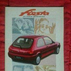 Coches y Motocicletas: CATÁLOGO FORD FIESTA . 1996. Lote 177882507