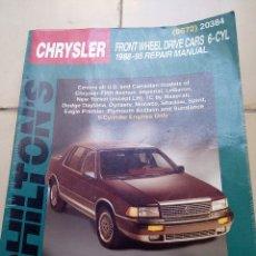 Coches y Motocicletas: MANUAL DE TALLER CHRYSLER 1988-95 CHILTON'S. Lote 177977515