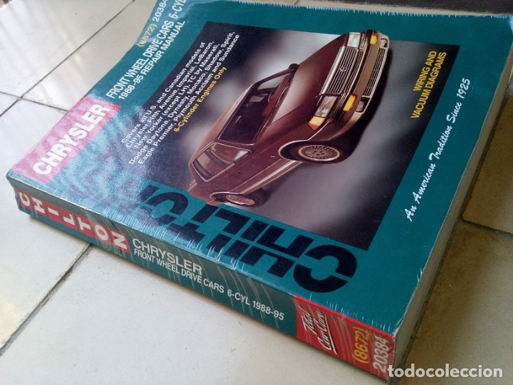 Coches y Motocicletas: Manual de taller Chrysler 1988-95 Chiltons - Foto 2 - 177977515