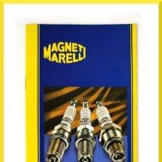 Coches y Motocicletas: MAGNETI MARELLI - PRINCIPALES APLICACIONES BUJIAS DE ENCENDIDO. Lote 58280872