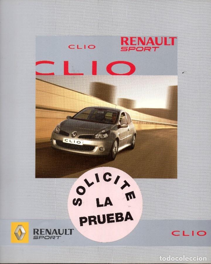 RENAULT CLIO 3 SPORT SEPTIEMBRE 2006 (Coches y Motocicletas Antiguas y Clásicas - Catálogos, Publicidad y Libros de mecánica)