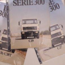 Coches y Motocicletas: C38T CUMMINS,3 CATALOGOS DODGE BARREIROS 1980 PARA EXPORTACION. Lote 178367810