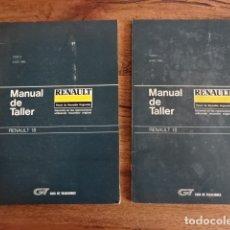 Coches y Motocicletas: MANUAL DE TALLER RENAULT 18. Lote 178386260