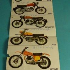 Coches y Motocicletas: HOJA - DÍPTICO PUBLICITARIO MOTOCICLETAS MONTESA. Lote 178724785