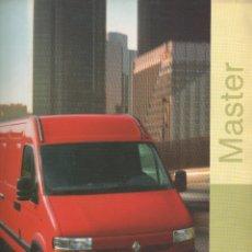 Coches y Motocicletas: CATALOGO RENAULT MASTER ABRIL 1999. Lote 178732882