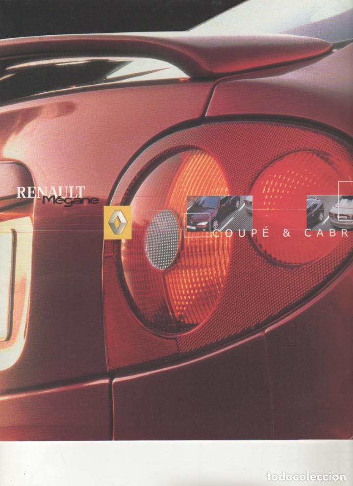 CATALOGO RENAULT MEGANE - NOVIEMBRE 2000 COUPE & CABRIOLET (Coches y Motocicletas Antiguas y Clásicas - Catálogos, Publicidad y Libros de mecánica)