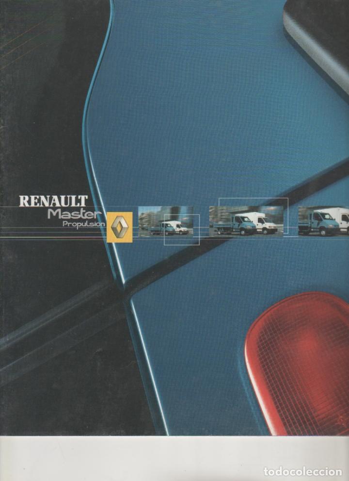 CATALOGO RENAULT MASTER PROPULSION ENERO 2003 (Coches y Motocicletas Antiguas y Clásicas - Catálogos, Publicidad y Libros de mecánica)