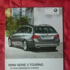 Coches y Motocicletas: CATÁLOGO BMW SERIE 3 TOURING . 2009. Lote 178854537