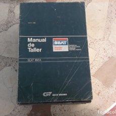 Coches y Motocicletas: GT GUIA DE TASACIONES MANUAL DEL TALLER SEAT IBIZA , 1986. Lote 178858625