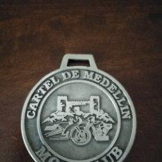 Coches y Motocicletas: MEDALLA MOTOCLUB CARTEL DE MEDELLÍN, CONCENTRACIÓN MOTERA GUAREÑA, BADAJOZ.. Lote 178873695