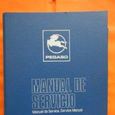 Coches y Motocicletas: IMPRESIONANTE MANUAL SERVICIO EN 1 TOMO PEGASO 6420 VARIANTE MOTOR 9040 (SEIDA BARREIROS MERCEDES). Lote 178894425