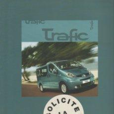 Coches y Motocicletas: CATALOGO RENAULT TRAFIC OCTUBRE 2006. Lote 178905550