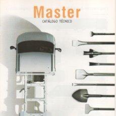 Coches y Motocicletas: CATALOGO RENAULT MASTER ABRIL 1999. Lote 178909965