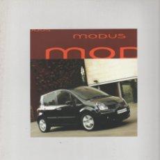 Coches y Motocicletas: CATALOGO RENAULT MODUS GENERACION 2007. Lote 178910160