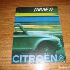 Coches y Motocicletas: (ALB-TC-202) CATALOGO CITROEN DYANE 6. Lote 178997536