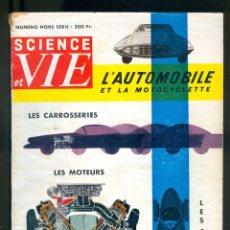 Coches y Motocicletas: NUMULITE L1041 SCIENCE ET VIE L'AUTOMOBILE ET LA MOTOCYCLETTE LES CARROSSERIES LES COURSES .... Lote 179091760