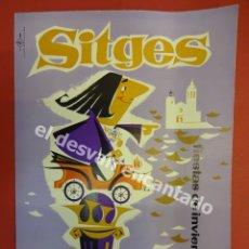 Coches y Motocicletas: SITGES. IV RALLYE COCHES DE ÉPOCA. 1962. LISTA DE INSCRITOS. Lote 179179823