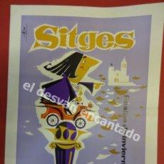 Coches y Motocicletas: SITGES. IV RALLYE COCHES DE ÉPOCA. 1962. MINUTA O MENU PLATEA DEL CASINO PRADO. Lote 179179933