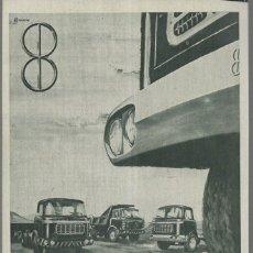 Coches y Motocicletas: ANUNCIO * BARREIROS * AÑO 1961. Lote 179210618
