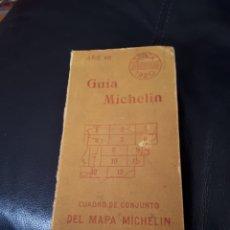 Coches y Motocicletas: GUIA MICHELIN ESPAÑA AÑO 1920. Lote 179315097