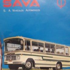 Coches y Motocicletas: SAVA PEGASO ENASA, GAMA DE MICRO BUSES Y AUTOCARES. Lote 179552718