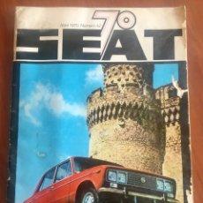 Coches y Motocicletas: REVISTA SEAT 70 NÚMERO 42 DE ABRIL DE 1970. Lote 180931627