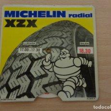 Automobili e Motociclette: IMPECABLE DISCO HORARIO DE MICHELIN DEL AÑO 1978. Lote 257322240