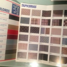 Coches y Motocicletas: PEUGEOT TALBOT GAMA COLORES 1984. Lote 181146256