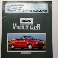 Coches y Motocicletas: GUÍA DE TASACIONES FIAT PUNTO MANUAL DE TALLER. Lote 181444160