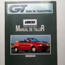 Coches y Motocicletas: GUÍA DE TASACIONES FIAT PUNTO CABRIO MANUAL DE TALLER. Lote 181444373
