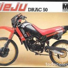 Coches y Motocicletas: CICLOMOTOR RIEJU DRAC 50. Lote 181928886