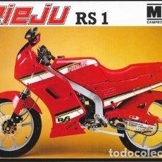 Coches y Motocicletas: CICLOMOTOR RIEJU RS1. Lote 181929895