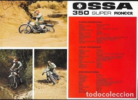 Coches y Motocicletas: MOTOCICLETA OSSA 350 SUPER PIONEER - Foto 2 - 181933971