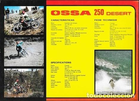 Coches y Motocicletas: MOTOCICLETA OSSA 250 DESERT - Foto 2 - 181935090
