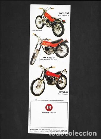 Coches y Motocicletas: CICLOMOTORES Y MOTOCICLETAS MONTESA TRIAL - Foto 2 - 181940061