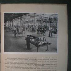 Coches y Motocicletas: SEAT: SOCIEDAD ESPAÑOLA DE AUTOMOVILES DE TURISMO. MAYO 1953. LÁMINAS HAUSER Y MENET. Lote 182211151