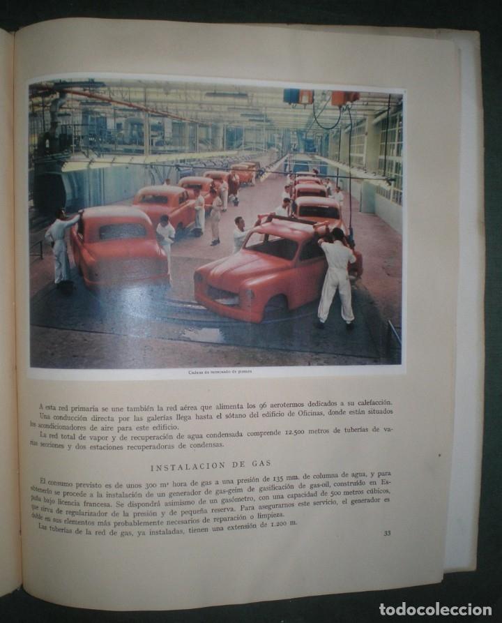 Coches y Motocicletas: SEAT: SOCIEDAD ESPAÑOLA DE AUTOMOVILES DE TURISMO. Mayo 1953. Láminas Hauser y Menet - Foto 3 - 182211151